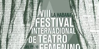 cartel de La Escritura De la/S Diferencia/S, festival internacional de teatro femenino