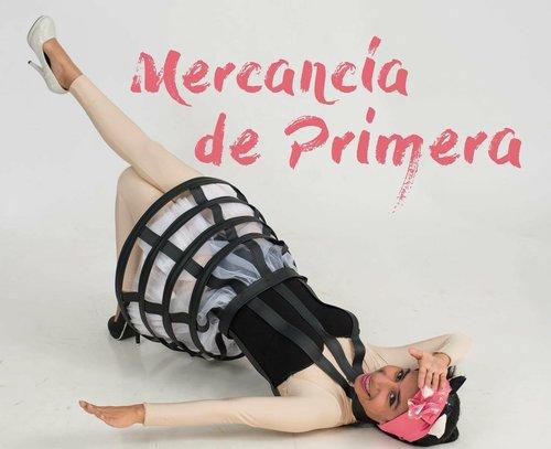 Cartel de la obra Mercancía de primera, de Ana Jacobo y Margarita López (Guatemala)
