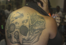 Tattoo en competencia. Fotografías Racso Morejón